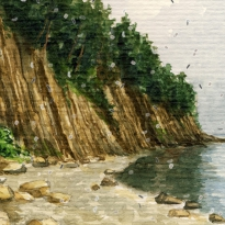 Около скалы Киселёва