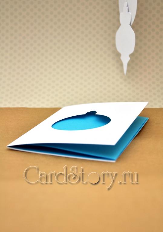 Шарик голубой
