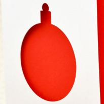 Шарик красный