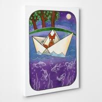 Sailing fox