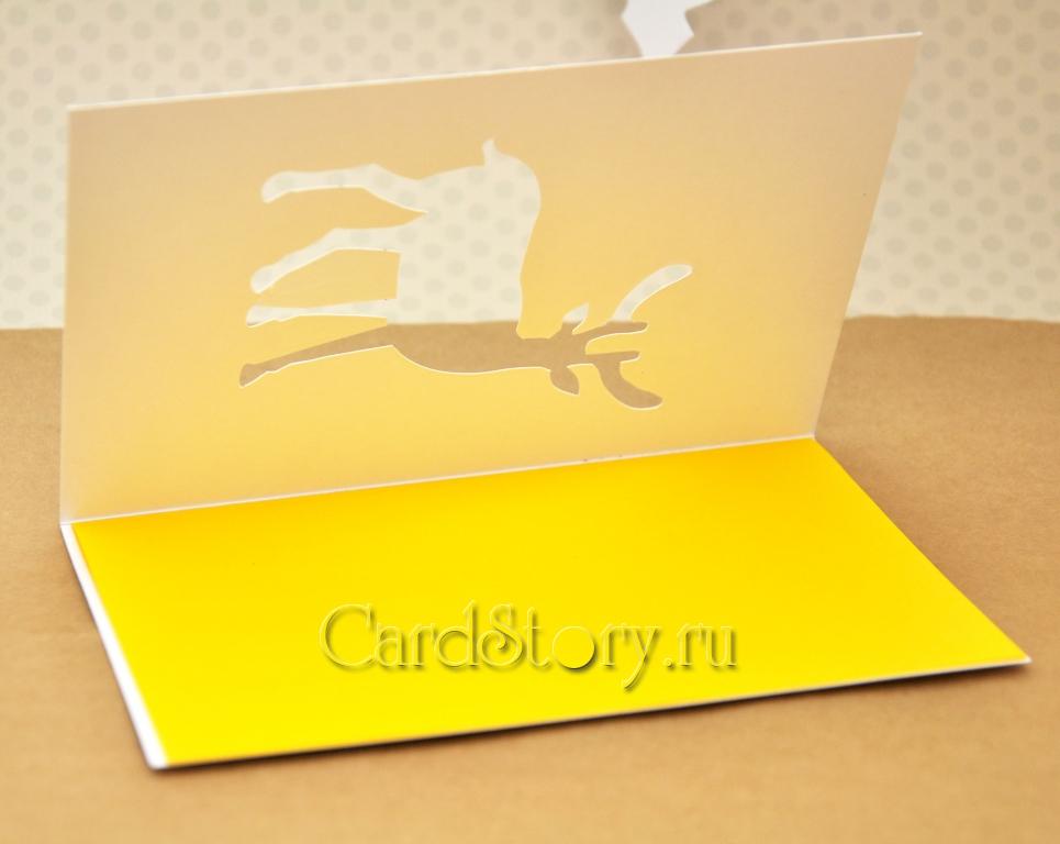 Оленюшка желтый