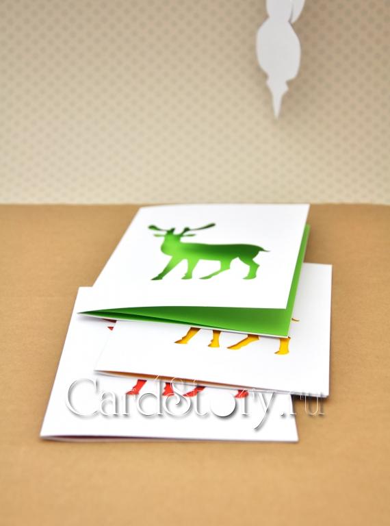 Оленюшки (набор открыток)