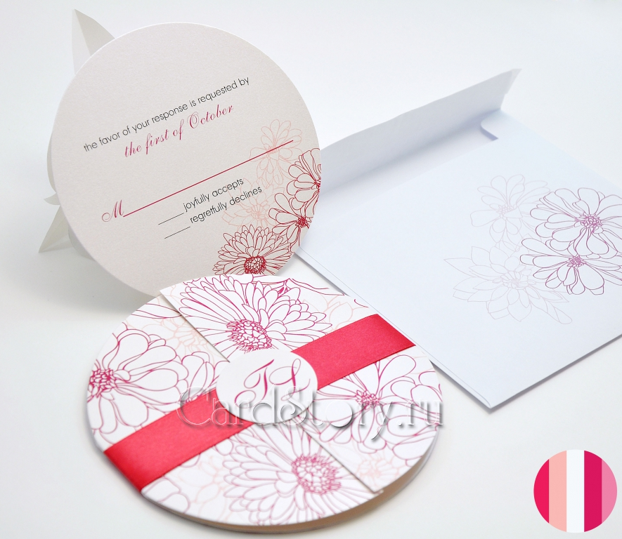 Приглашение на свадьбу Epitalamio