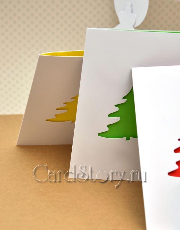 Ёлочки (набор открыток)