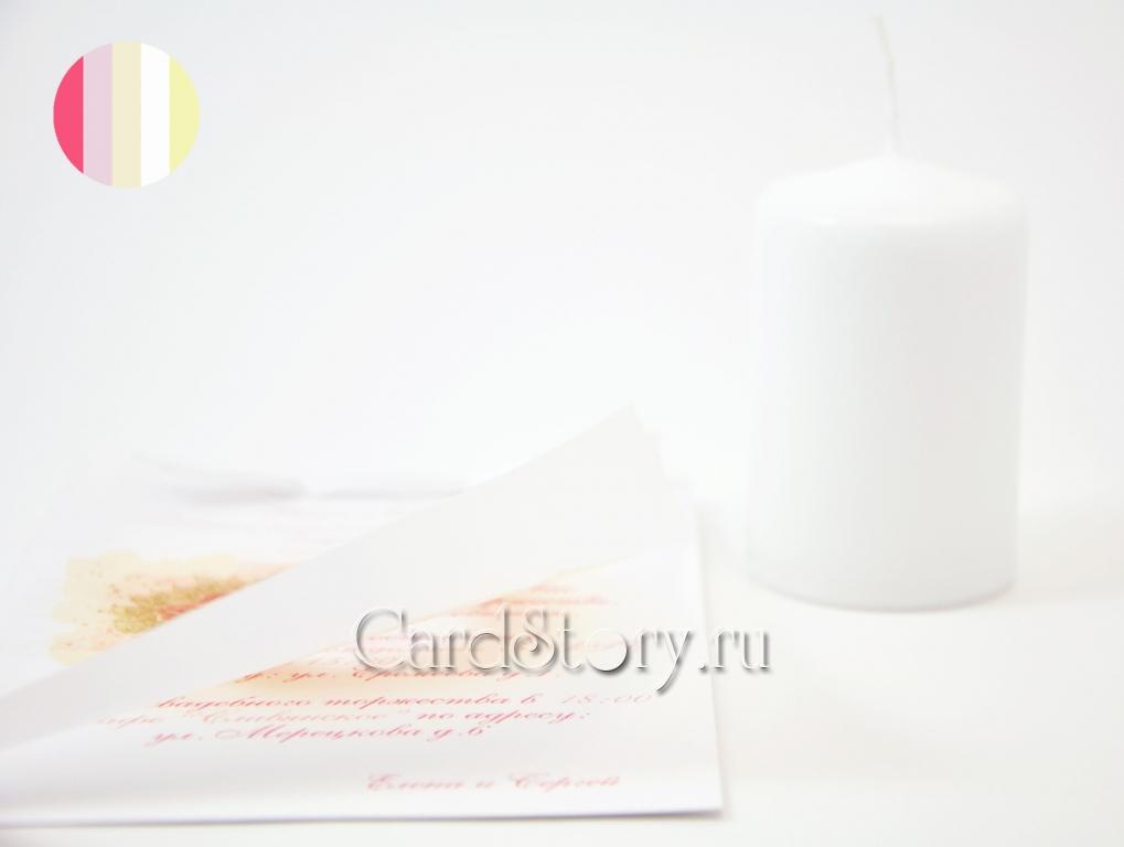 """Свадебные пригласительные """"Идеал нежности"""""""